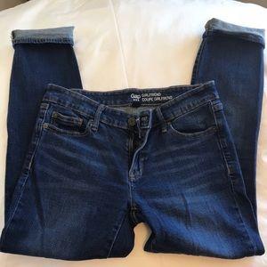 Gap Coupe Girlfriend Jeans
